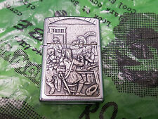 New/Rare ZiPPO Lighter; MEDIEVAL TABERN BRAWL limited edition high relif, 2008