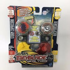 Beyblade METAL FUSION STORM CAPRICORN M145Q BB50A VS ROCK GASHER DF145WB B107