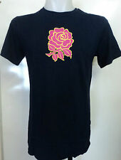 ENGLAND RUGBY NAVY UGLIES PINK ROSE TEE SHIRT BY CANTERBURY SIZE SMALL BRAND NEW