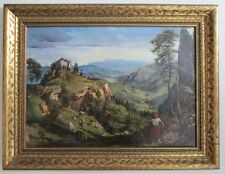 VINTAGE Oil Painting Unknown Artist Signed.