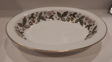 "WEDGWOOD ""STRAWBERRY HILL"" PATTERN OVAL VEGETABLE BOWL 10"" MADE IN ENGLAND"