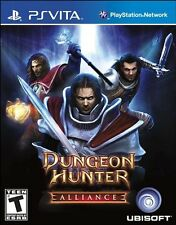 PLAYSTATION VITA DUNGEON HUNTER ALLIANCE BRAND NEW VIDEO GAME