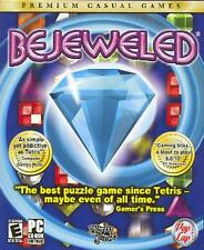 Bejeweled Deluxe PC CD swap match colored gems timed matching puzzle points game