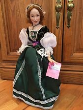 Paradise Galleries Lady of Tipperary Porcelain Doll by Patricia Rose MUSICAL 16""