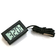 Refrigerator Thermometer Aquarium Electronic Waterproof Probe Digital Display
