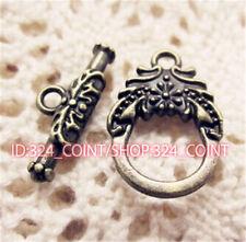 P534 12sets Antique Bronze Toggle Clasps For Necklace Bracelet Clasp accessories