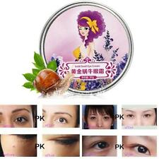 New Natural Remove Dark Circle Wrinkle Puffiness Gold Snail Eye Cream Soft A19