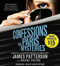 CONFESSIONS: THE PARIS MYSTERIES unabridged audio book on CD by JAMES PATTERSON