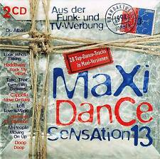 Musik Doppel CD Sampler Maxi Dance Sensation Vol. 13