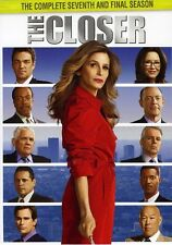 Closer: The Complete Seventh Season [5 Discs] (2012, REGION 1 DVD New)