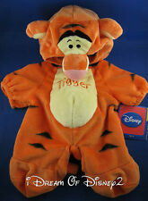 BUILD-A-BEAR TIGGER COSTUME DISNEY (WINNIE THE POOH) PLUSH TEDDY 2 pc OUTFIT NEW
