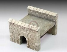 Royal Model 1/35 - 1/32 Little Stone Bridge Section [Plaster Resin Diorama] 691