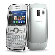 Nokia Asha 302 White RM-813 QWERTY keyboard Symbian S40 without Simlock new