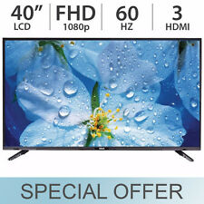 "RCA 40"" Inch 1080p FHD LED LCD FULL HD TV 60Hz w/ 3 HDMI - LED40E45RH"