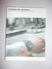 BROCHURE PORSCHE DESIGN DRIVER'S SELECTION 2005
