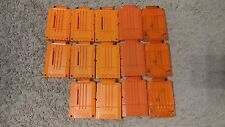 Nerf Gun Ammo Clip Magazines - Lot of 14 - Replacements