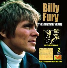 THE MISSING YEARS / STUDIO MASTERS Super new Billy Fury double CD