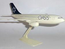 Airbus A310 Oasis Airlines Spain 1990's Wooster Desktop Model Scale 1:200 W277