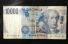 1984 Italy 10000 Lire  paper Banknote(pre-euro banknote)