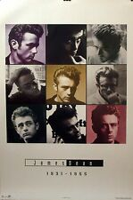 James Dean 24x36 Memorial Collage Poster 1982 OSP