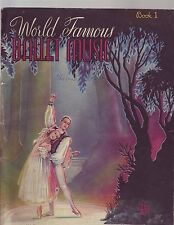 World Famous Ballet Music Book 1 SONGBOOK 1940's?
