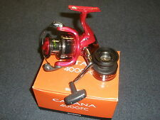 Shimano Catana 4000 FC FRONT DRAG REEL + BOBINA DI RICAMBIO Fishing Tackle
