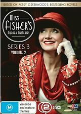 MISS FISHER'S MURDER MYSTERIES - SEASON 3 Voulme 2 -  DVD - UK Compatible