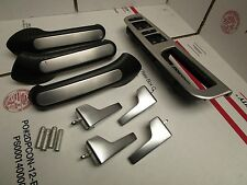 VW MK4 BRUSHED ALUMINUM DOOR HANDLE PULL SET 4 DOOR JETTA GLI GOLF GTI TDI  OEM