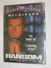Brand New DVD Ransom (Special Edition) Mel Gibson Rene Russo Brawley Nolte