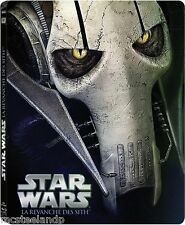 Star Wars - Episode III : La revanche des Sit - Édition STEELBOOK - BLU-RAY NEUF