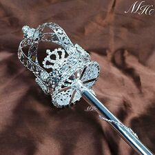 Royal Scepter Wand Bridal Beauty Pageant King Queen Accessory Prop Staff New