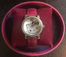 Kimora Lee Simmons Hello Kitty Diamond Sapphire Alligator Watch