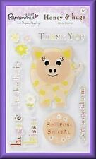 PM Honey & Hugs Clear Stamps, Piggy BNIP