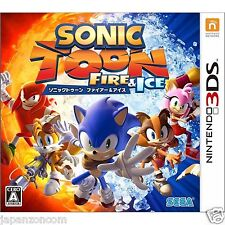 Sonic Toon Fire & Ice 3DS NINTENDO JAPANESE  JAPANZON