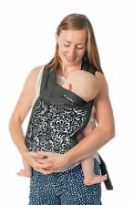 """Floreale Nero"" cuddlebug 3-in - 1 Carrier Mei Tai con cappuccio-cuddlebug 100% COTTO"