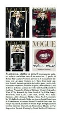 VOGUE ITALIA February 2017 MADONNA by Steven Meisel BUNDLE 4 COVERS PRE-ORDER