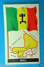 figurines stickers picture cards figurine bandiere del mondo 64 mali la folgore
