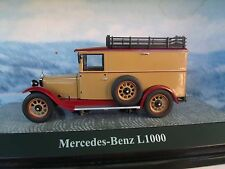1:43 PREMIUM CLASSIXXs  Mercedes-Benz L1000  limited 1 of 1000