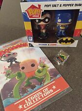FUNKO POP~ DC LEGACY LEGION OF COLLECTORS S&P SHAKERS, Aquaman Book Lot