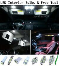 New Interior Car LED Bulbs Light KIT Package Xenon White 6000K For SKODA FABIA