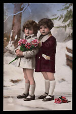 cartolina d'epoca-post card-CHILD ENFANT KIND BAMBINI 41