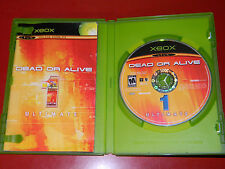 Dead or Alive 1 Ultimate (Xbox) COMPLETE - Cleaned & Tested