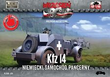 First to Fight Models 1/72 Sd Kfz 14 GERMAN ARMORED RADIO CAR Polish Campaign