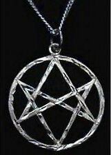 COOL New Celtic Unicursal Hexagram Genuine Sterling Silver .925 charm Wicca Jewe