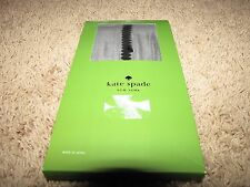 "NEW *KATE SPADE* ""Thigh High"" Tights Stripe Black M/L $32"