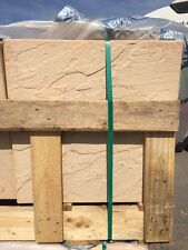 BRADSTONE DERBYSHIRE SANDSTONE COLOUR PATIO PAVING SLABS FLAGS  450x450mm  07248