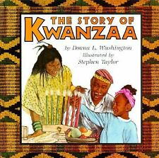 The Story of Kwanzaa (Trophy Picture Books) Washington, Donna L. Paperback