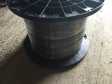 Loose Tube Fiber Optic Cable, 6 Strand SM 9/125, OS2 Mohawk Outdoor 500ft