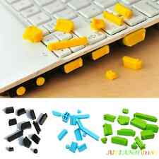 13Pcs Dustproof Silicone USB HDMI Port Plug Cover for PC Mac Laptop Notebook AHY