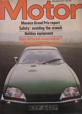 Motor magazine 5/6/1976 featuring Citroen CX Pallas road test